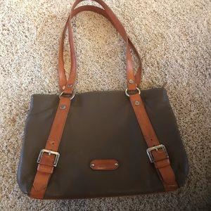Vintage leather Valentina purse